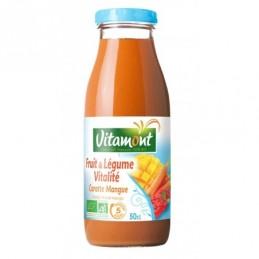 Jus carotte mangue